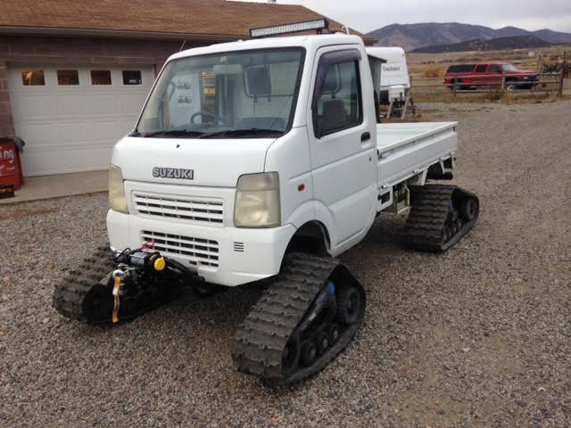 Dump Truck For Sale By Owner >> Trucks on Tracks! Snow-Bound Suzuki! Camoplast on Carry! - Star Truck Enterprises, LLC